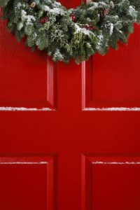 Edited Red Door Wreath