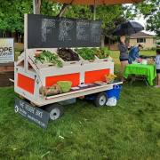 free veggie bike produce